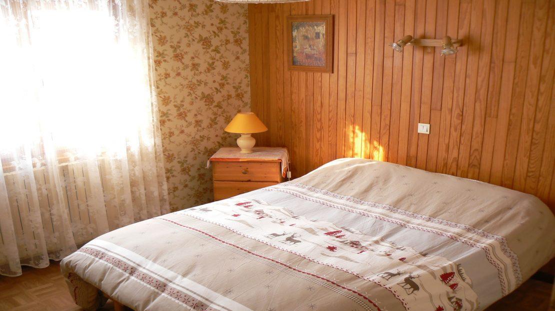 La Clusaz Locations - Chalet Fleurs des Alpes - Chambre n°1
