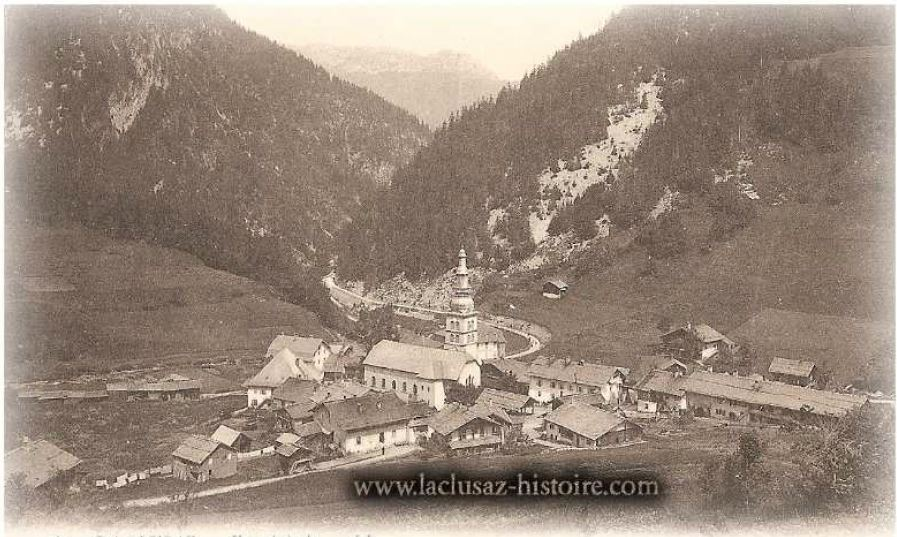 La Clusaz Locations - Photo ancienne la Clusaz