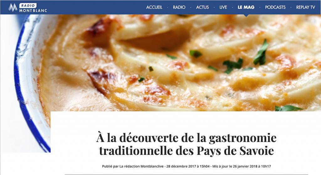 La Clusaz Locations - Gastronomie Savoie